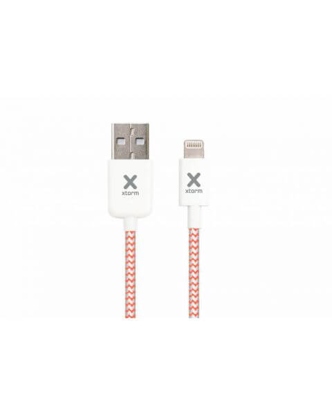 Lightning naar USB-kabel 2,5 meter - Wit / White