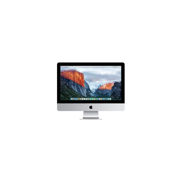 iMac 21-inch Core i5 2.8 GHz 2 TB HDD 16 GB RAM Silber (Late 2015)