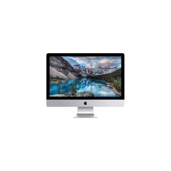 iMac 27-inch Core i7 4.0 GHz 1 TB HDD 8 GB RAM Silber (5K, Late 2015)