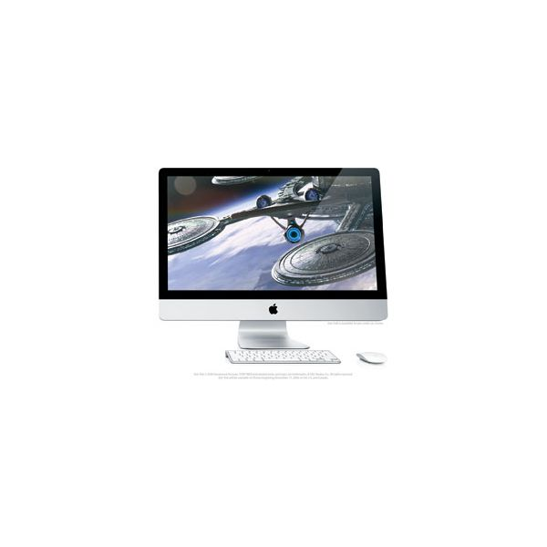 iMac 27-inch Core i7 2.8 GHz 2 TB HDD 4 GB RAM Silber (Ende 2009)