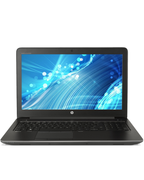 HP ZBook 15 G3 | 15.6 inch FHD | 6. Gen i7 | 500GB HDD | 16GB RAM | NVIDIA Quadro M1000M | QWERTY/AZERTY/QWERTZ