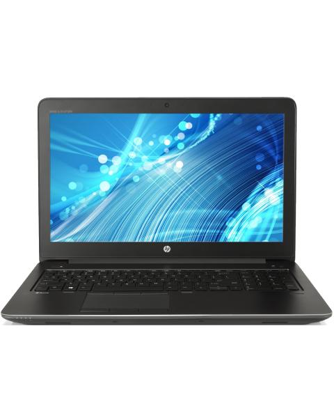 HP ZBook 15 G3 | 15.6 inch FHD | 6. Gen i7 | 256GB SSD | 16GB RAM | NVIDIA Quadro M1000M | QWERTY/AZERTY/QWERTZ