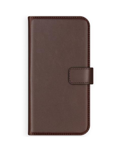 Echt Lederen Booktype iPhone 8 Plus / 7 Plus - Bruin / Brown