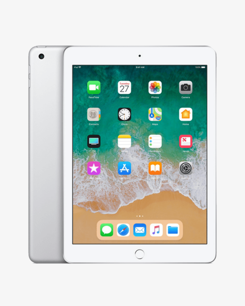 Refurbished iPad 2018 128 GB WiFi silber