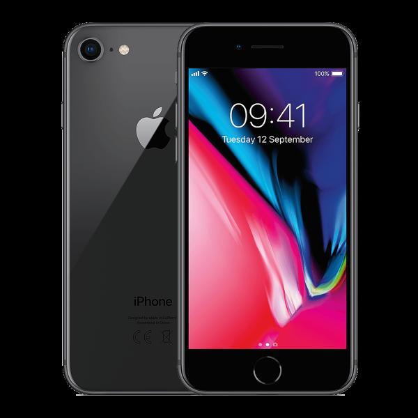 Refurbished Iphone 8 plus space gray
