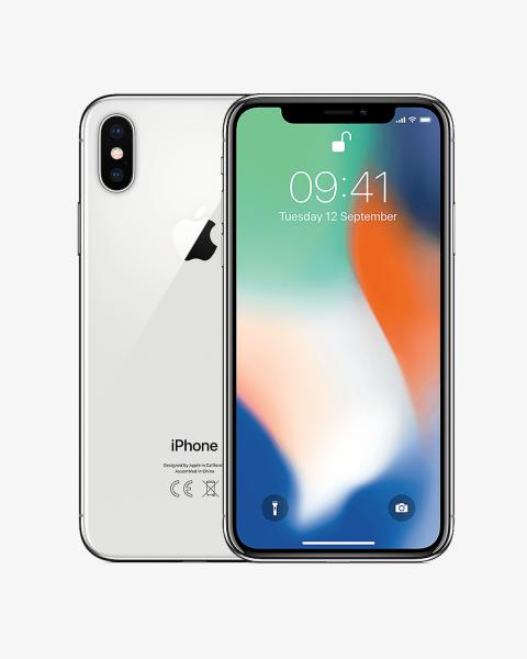 Refurbished iPhone X 64GB Silber