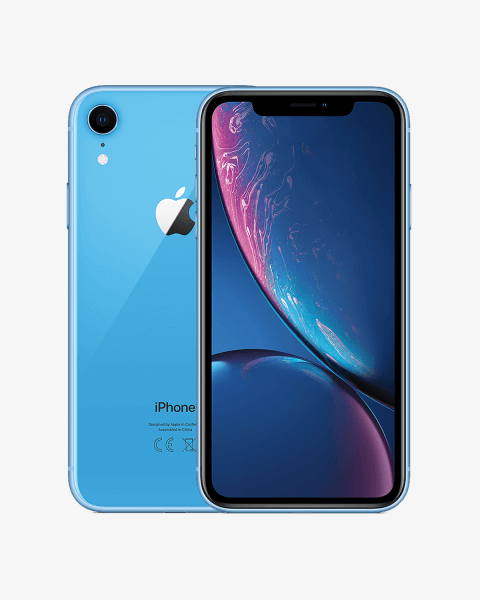 Refurbished iPhone XR 64 GB Blau