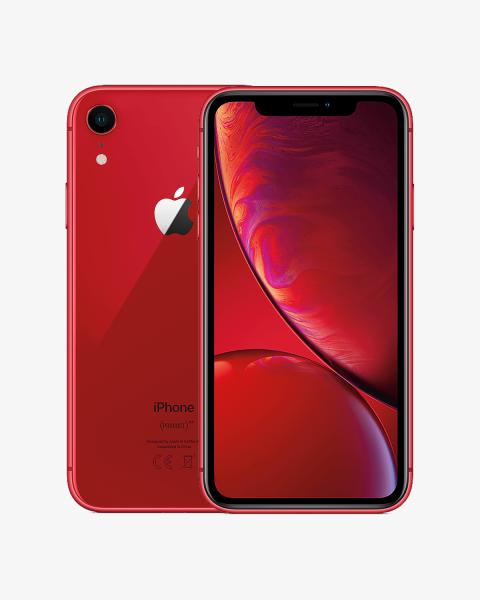 Refurbished iPhone XR 64 GB rot