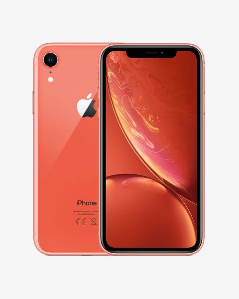 Refurbished iPhone XR 128 GB koralle