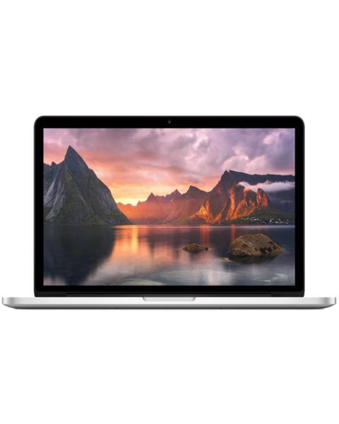 Macbook Pro 13-inch Core i5 2.7 GHz 480 GB SSD 8 GB RAM Zilver (Anfang 2015)