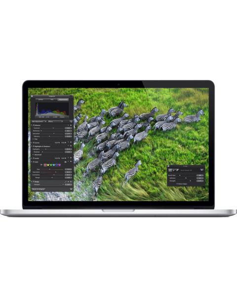MacBook Pro 15-inch   Core i7 2.3 GHz   500GB SSD   16GB RAM   silber (Late 2013)