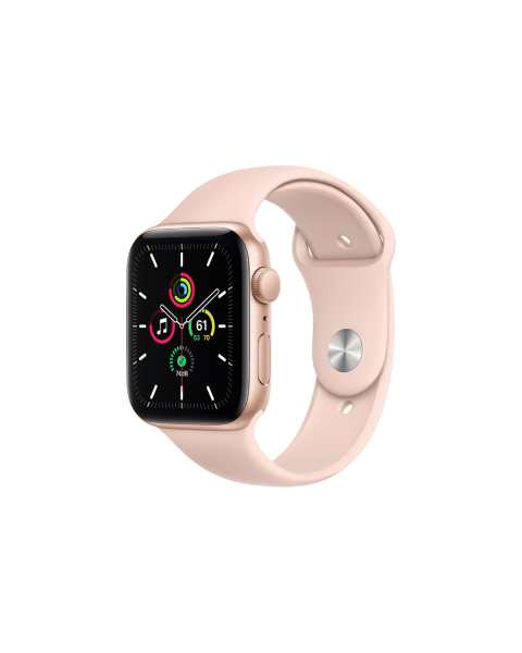 Refurbished Apple Watch Serie 5 40mm GPS Aluminium gold mit rosa armband