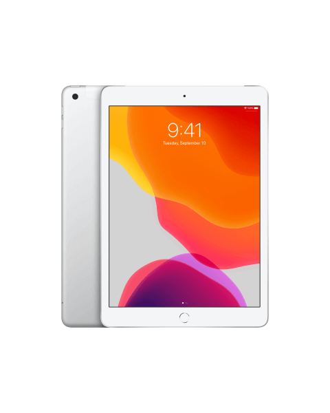 Refurbished iPad 2019 128GB WiFi + 4G Silber
