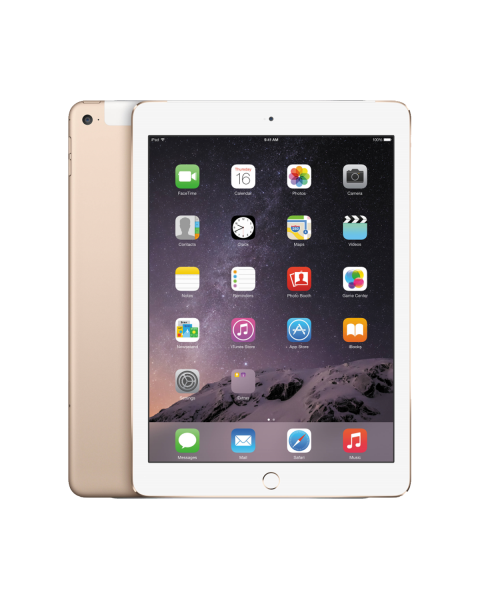 Refurbished iPad Air 2 128GB WiFi + 4G goud