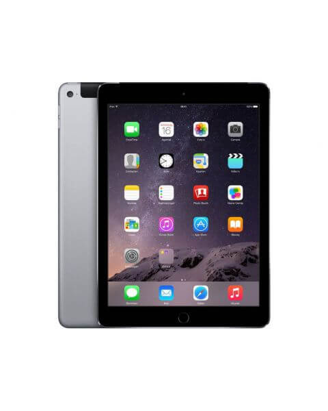 Refurbished iPad Air 2 32GB WiFi + 4G Schwarz/Space Grau