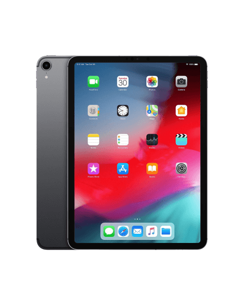 Refurbished iPad Pro 11-inch 64GB WiFi Space Grau (2018)