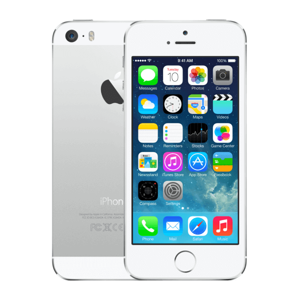 Refurbished iPhone 5S 64GB Silber