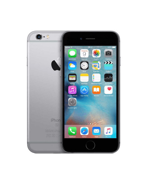 Refurbished iPhone 6S 64GB Schwarz/Space Grau