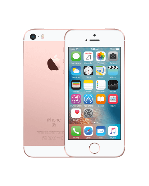 Refurbished iPhone SE 32GB Roségold