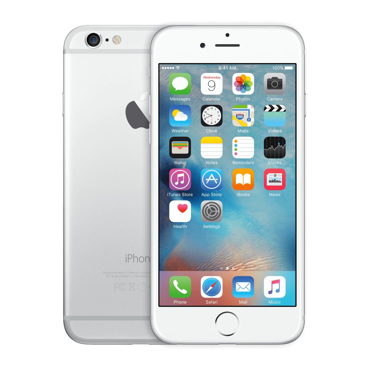 Refurbished Iphone 6 Silber